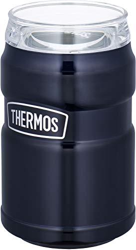 サーモス アウトドアシリーズ 保冷缶ホルダー ミッドナイトブルー 350ml...