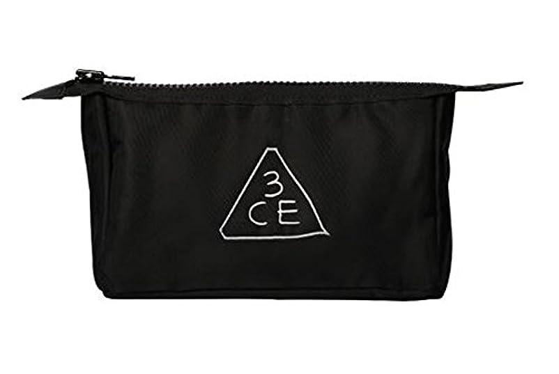 フルーティー塩エゴマニア3CE (3 CONCEPT EYES) 正規品 コスメポーチ 日本国内発送 (BLACK(オリジナル))