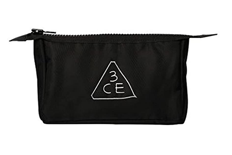 3CE (3 CONCEPT EYES) 正規品 コスメポーチ 日本国内発送 (BLACK(オリジナル))