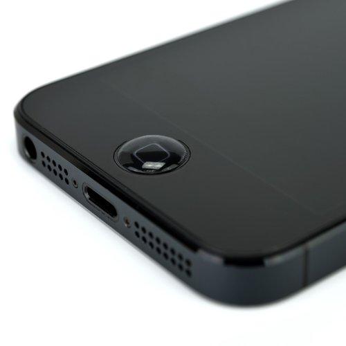 SP579:【日本製】 1パック2個入り!貼るだけでホームボタンの操作性アップ!ぷっくりとした立体形状のホームボタンカバー「ホームボタンビーンズフィット for iPhone/iPad mini/iPad第4世代/iPad(第3世代)/iPad2/初代iPad/iPodtouch」 iPhone5 液晶保護 シール ホームボタン