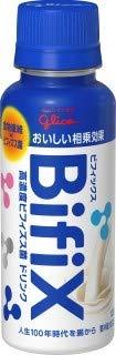 【冷蔵】グリコ BifiX 高濃度ビフィズス菌ドリンク 100gX10本