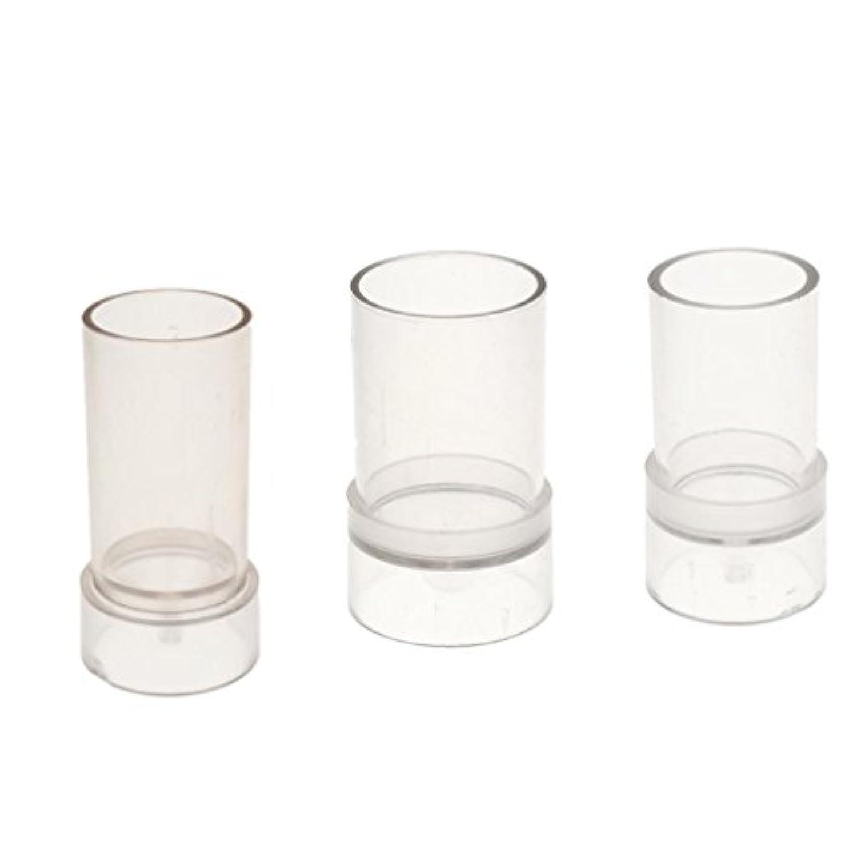 Baosity 石鹸 キャンドルモールド 金型 手芸 成形容器 手作り用  透明  3個セット
