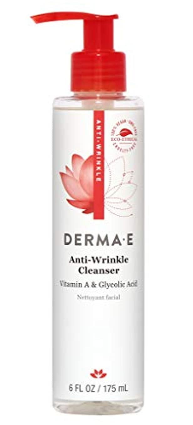 海外直送品Vitamin A Glycolic Cleanser, 6 oz by Derma e