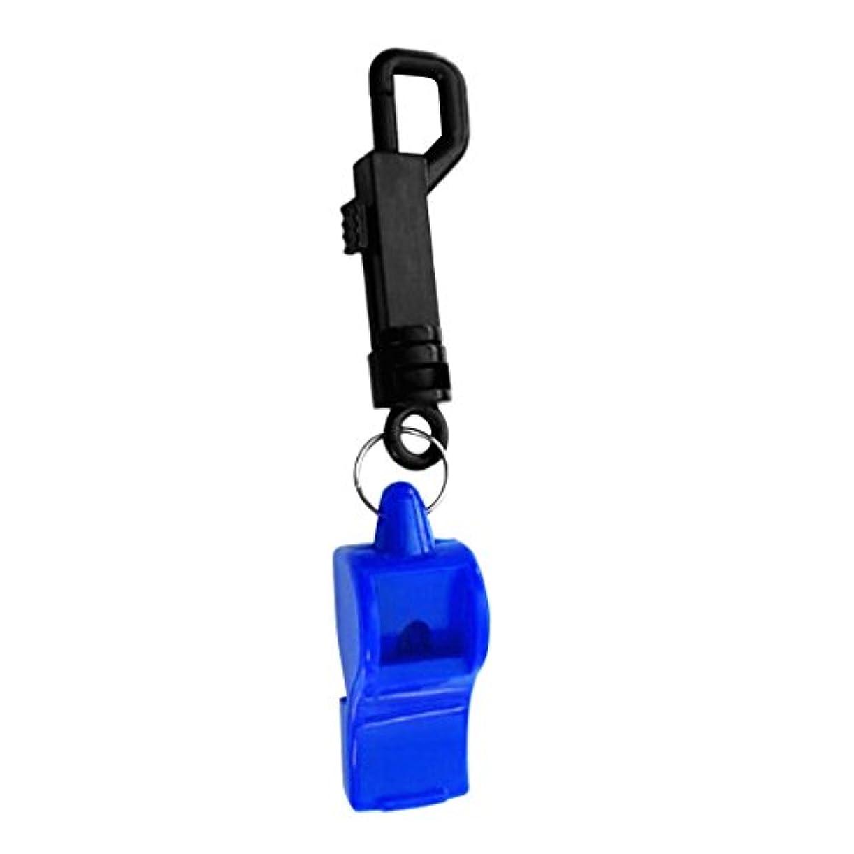 誰でも良心潤滑するBaoblaze 小型 持ち運び ABSプラスチック ホイッスル 呼子 スナップ クリップ付き スキューバ ダイビング用 全6色