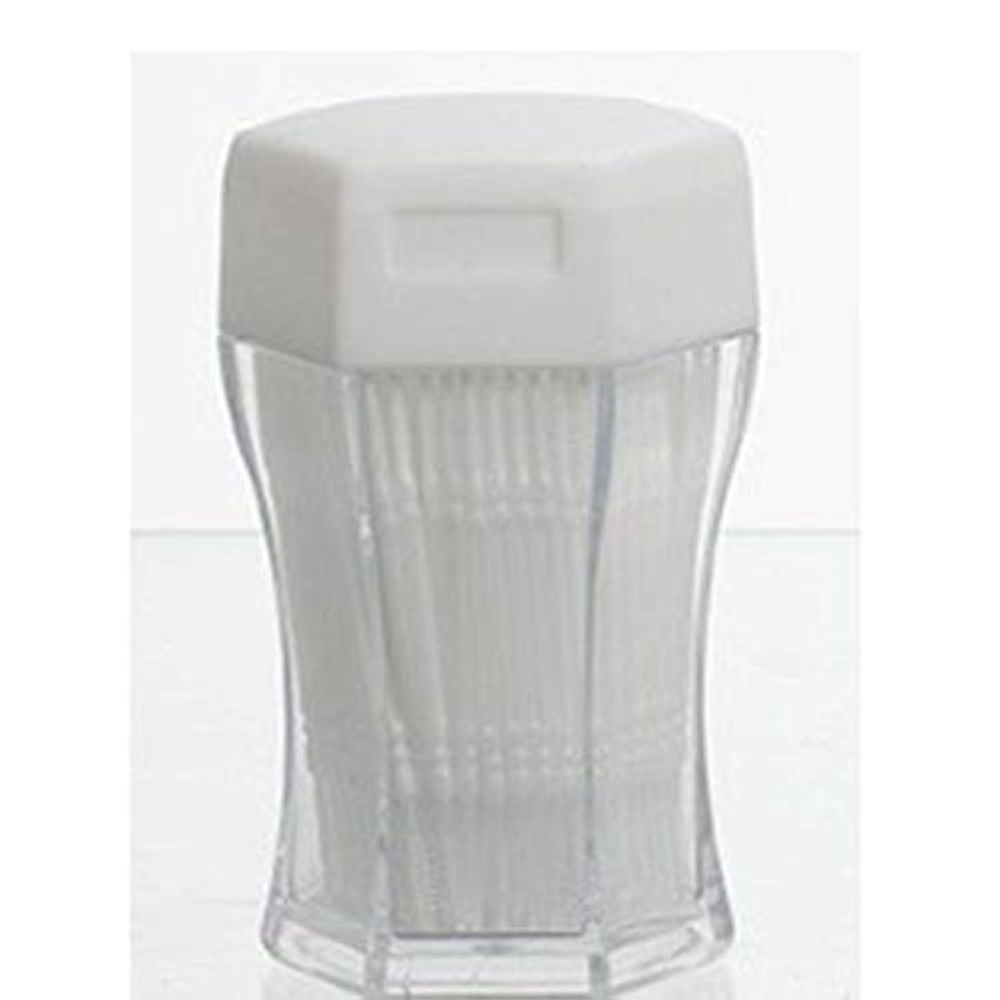 バックグラウンド回復する銀200ピース/セットダブルヘッド歯フロス衛生デンタルフロスプラスチック歯間つまようじ歯の口腔ケアのための健康 (PandaWelly)