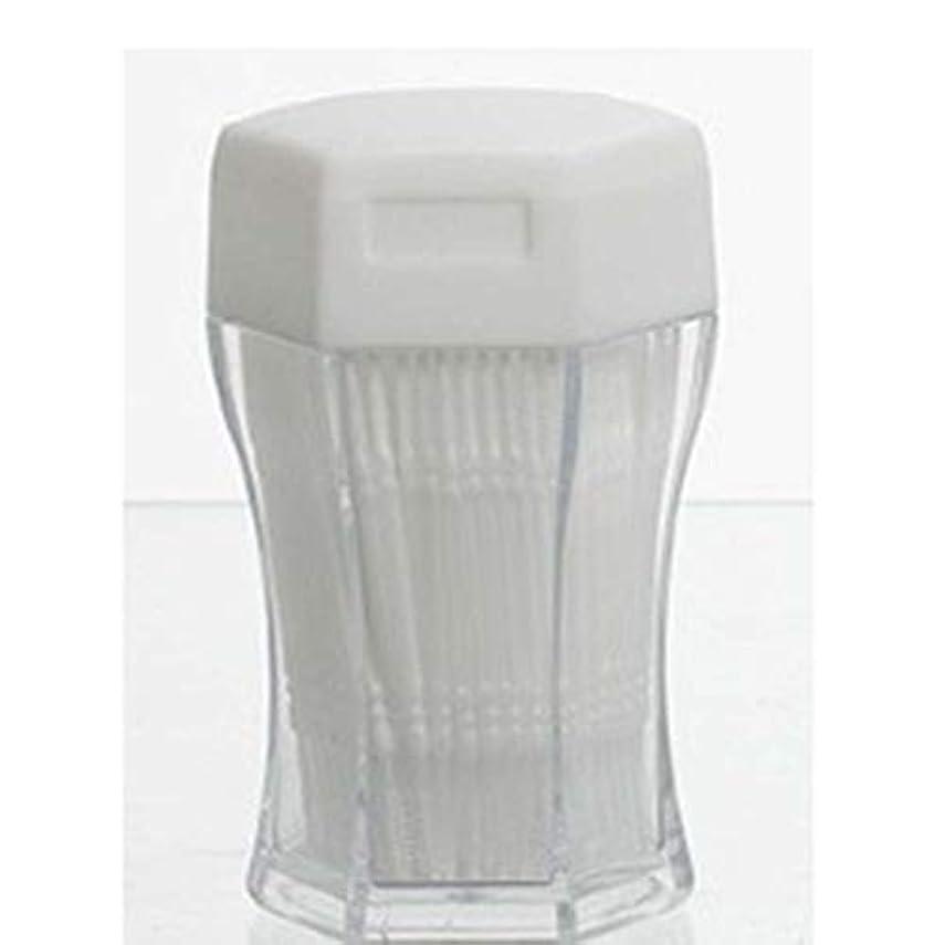移動する数値も200ピース/セットダブルヘッド歯フロス衛生デンタルフロスプラスチック歯間つまようじ歯の口腔ケアのための健康 (PandaWelly)