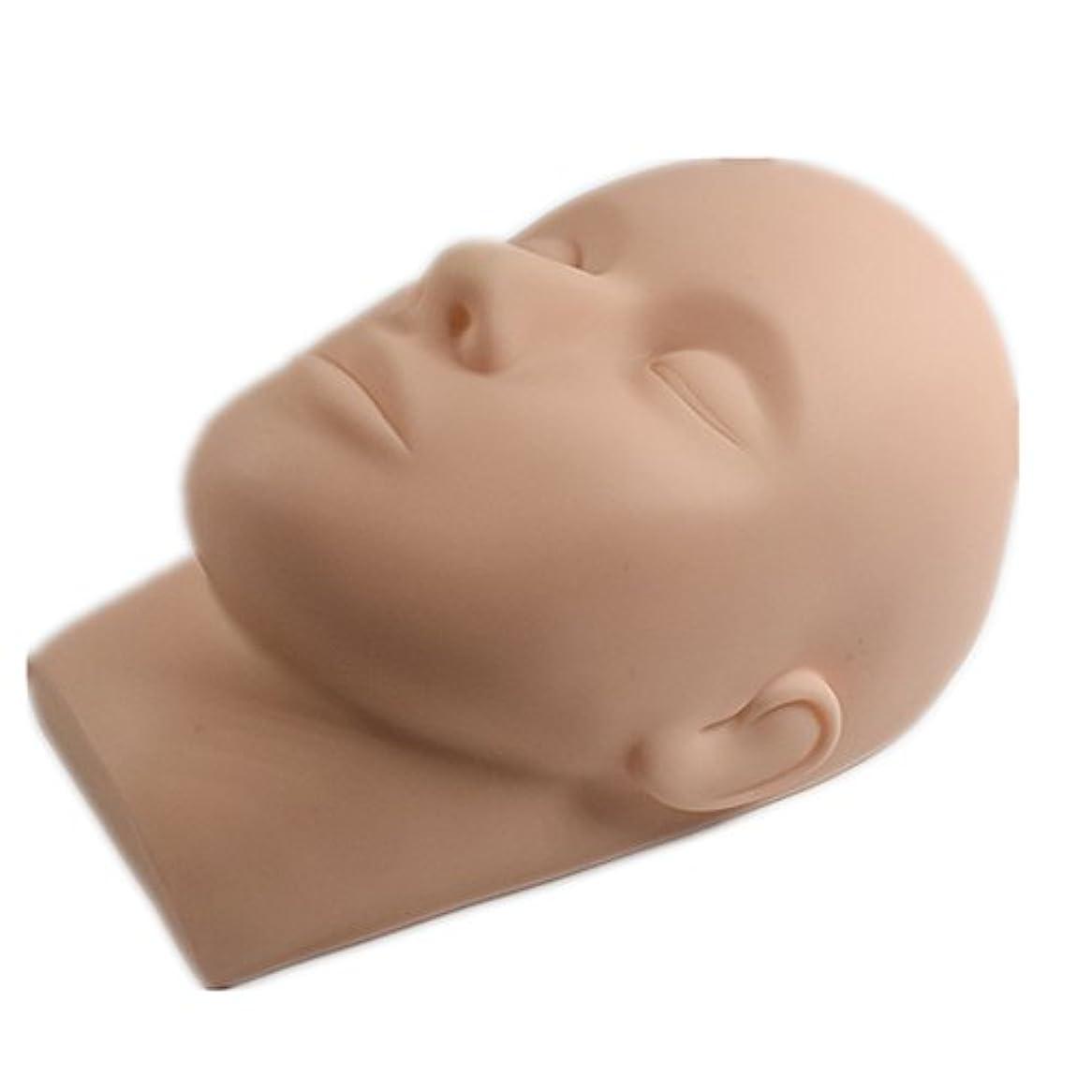 言語タップ人形エクステ施術トレーニング用マネキンヘッド フェイスマネキン