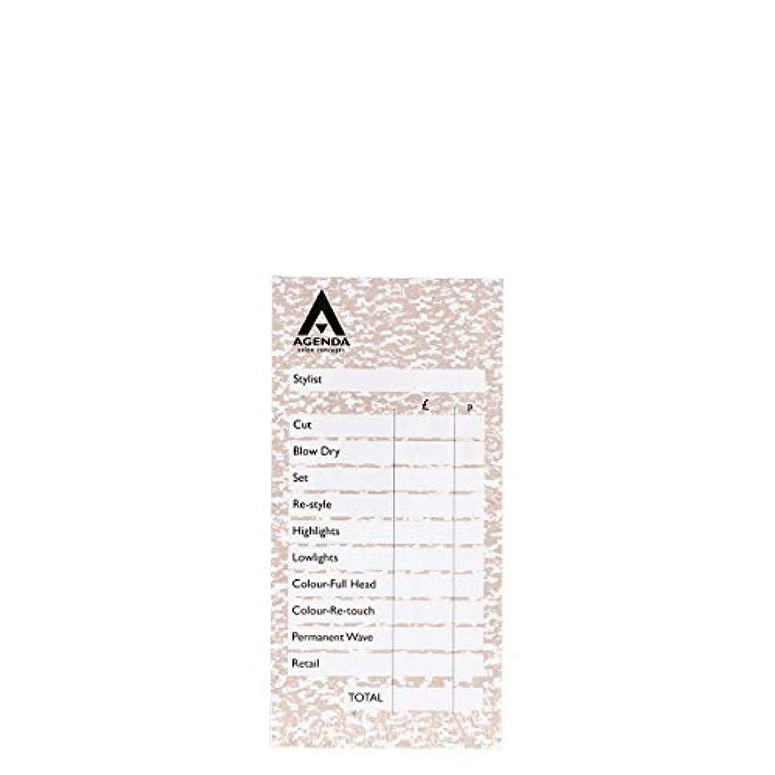 下る頻繁に発火するアジェンダ サロンコンセプト チェックパッドベージュ6x100リーフ[海外直送品] [並行輸入品]