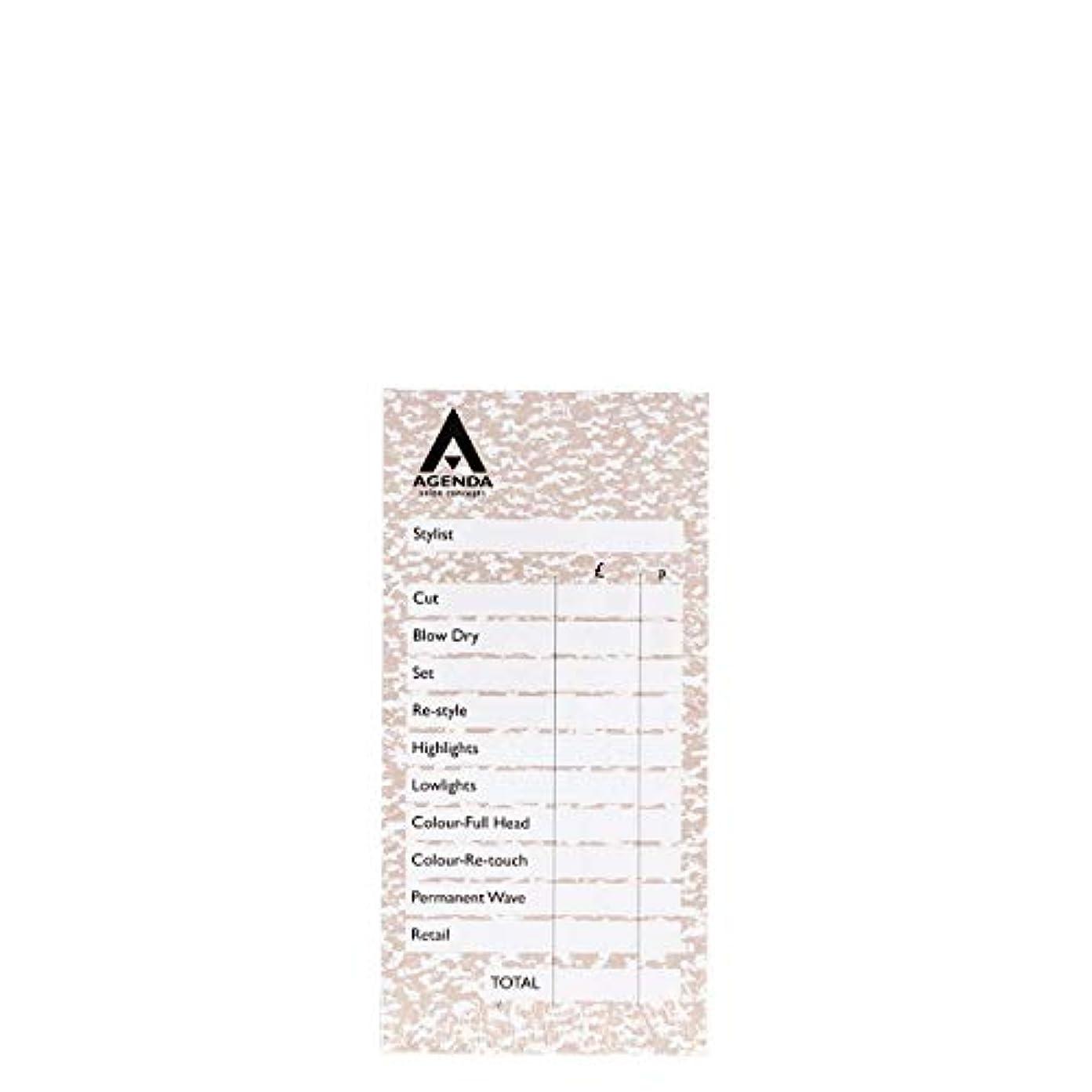 達成直感追放するアジェンダ サロンコンセプト チェックパッドベージュ6x100リーフ[海外直送品] [並行輸入品]
