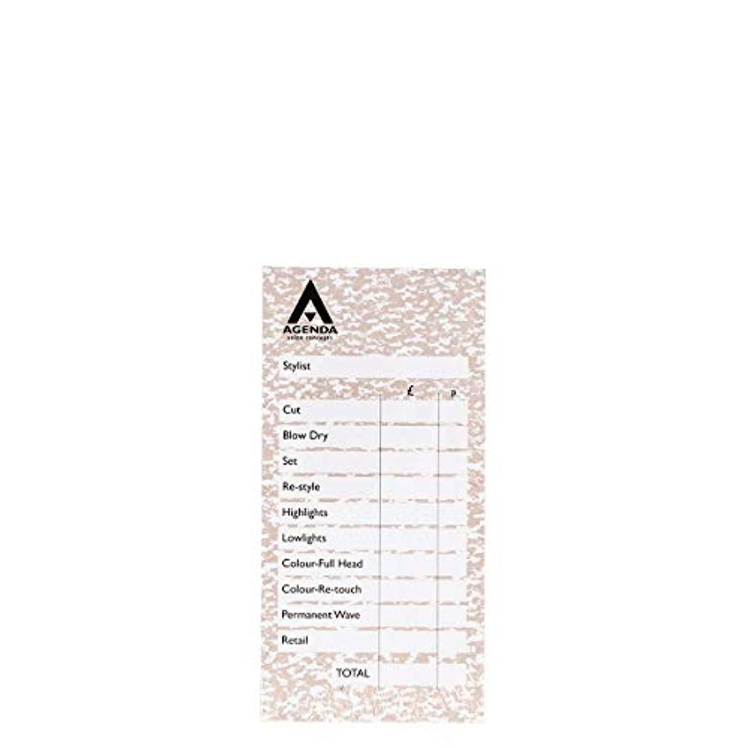 イル会社兄アジェンダ サロンコンセプト チェックパッドベージュ6x100リーフ[海外直送品] [並行輸入品]