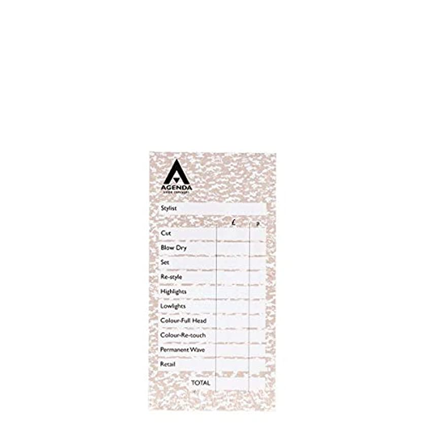 入力仲介者分布アジェンダ サロンコンセプト チェックパッドベージュ6x100リーフ[海外直送品] [並行輸入品]