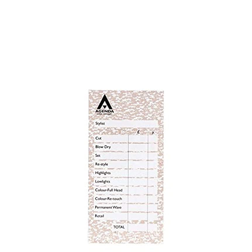 ぶどうどう?決定的アジェンダ サロンコンセプト チェックパッドベージュ6x100リーフ[海外直送品] [並行輸入品]
