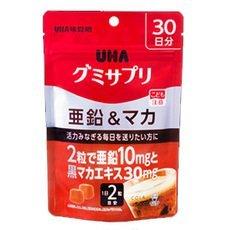 UHA味覚糖 UHAグミサプリ亜鉛&マカ30日分 -