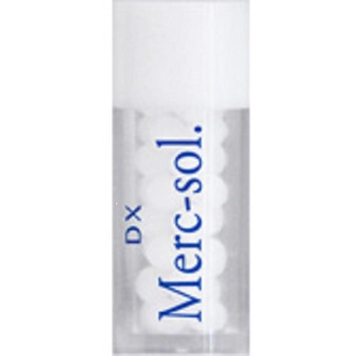 重要な役割を果たす、中心的な手段となる完璧なコントラストホメオパシージャパンレメディー DX Merc-sol.  ディーエックス マークソル (小ビン)