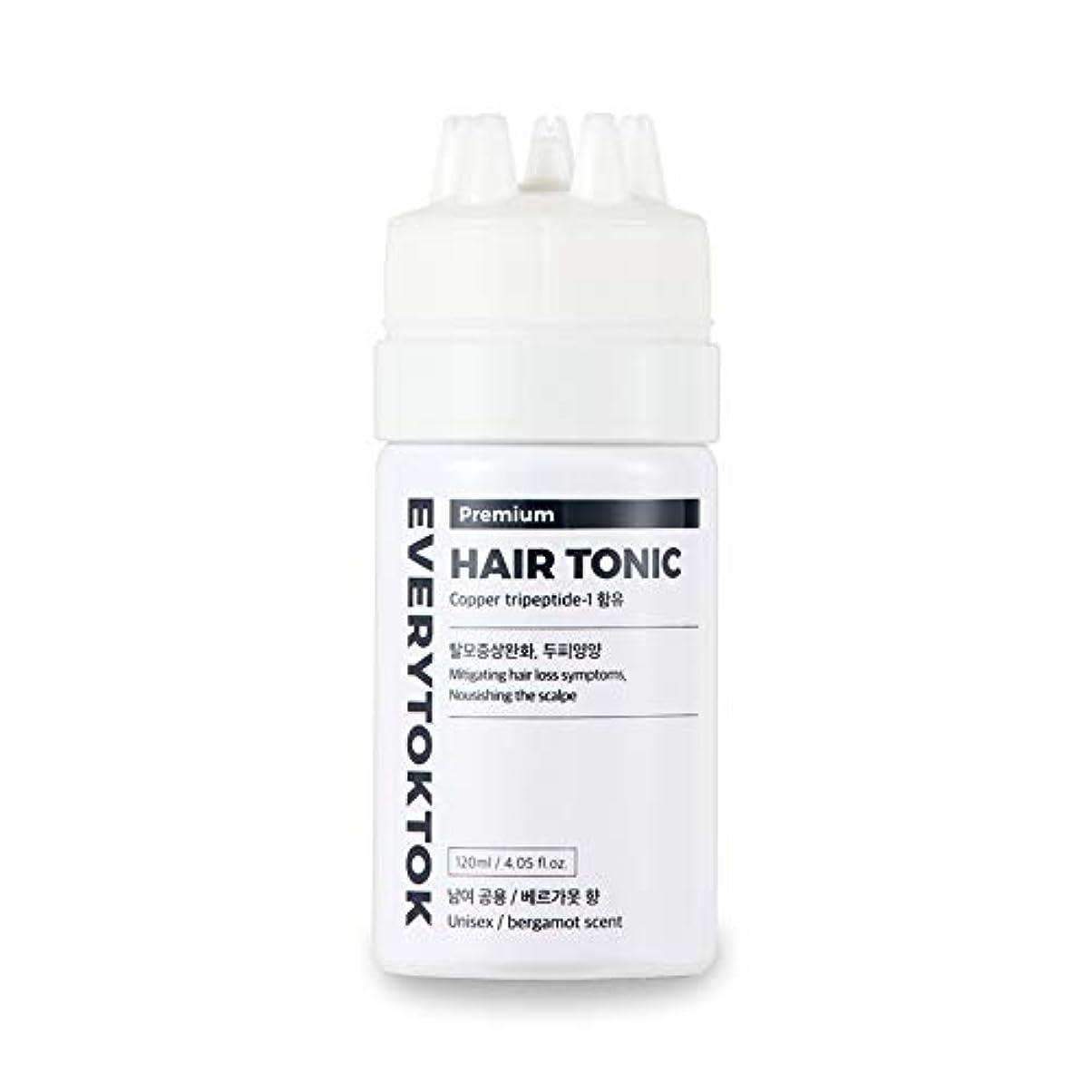 関係不愉快火曜日[Every TokTok] プレミアムヘアトニック - 頭皮エッセンス、育毛セラム、髪の根、髪の成長、4.05 fl oz、 韓国 ヘアトリートメント