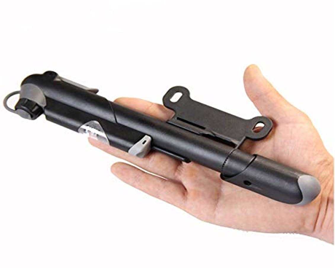 ループ耐えられない一元化するミニバイクポンプ&グルーレスパンク修理キット - Presta&Schraderにフィット - 120 PSI - バルブ交換不要