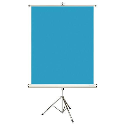 HAKUBA 証明写真用バックスクリーン スタンド式 ビニールレザータイプ 120×150 ブルー HBS-NSV1215BL