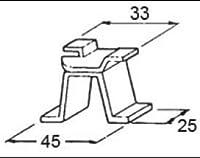 LIXIL部品 ドア・引戸用部品 その他 浴室ドア・引戸:アンカー[D1X28] シルバー[D1X28]