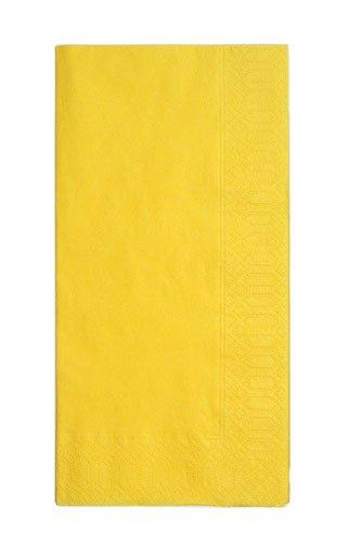 カラーナプキン 8ッ折(2,000枚入) 45cm 2P レモン 【品番】PNP0501