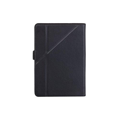 Rivacase (リヴァケース)3134 ユニバーサル。8 インチタブレットケース、カメラレンズホール付き、スマートでタブレットに優しい人工皮革。色はブラック(黒)