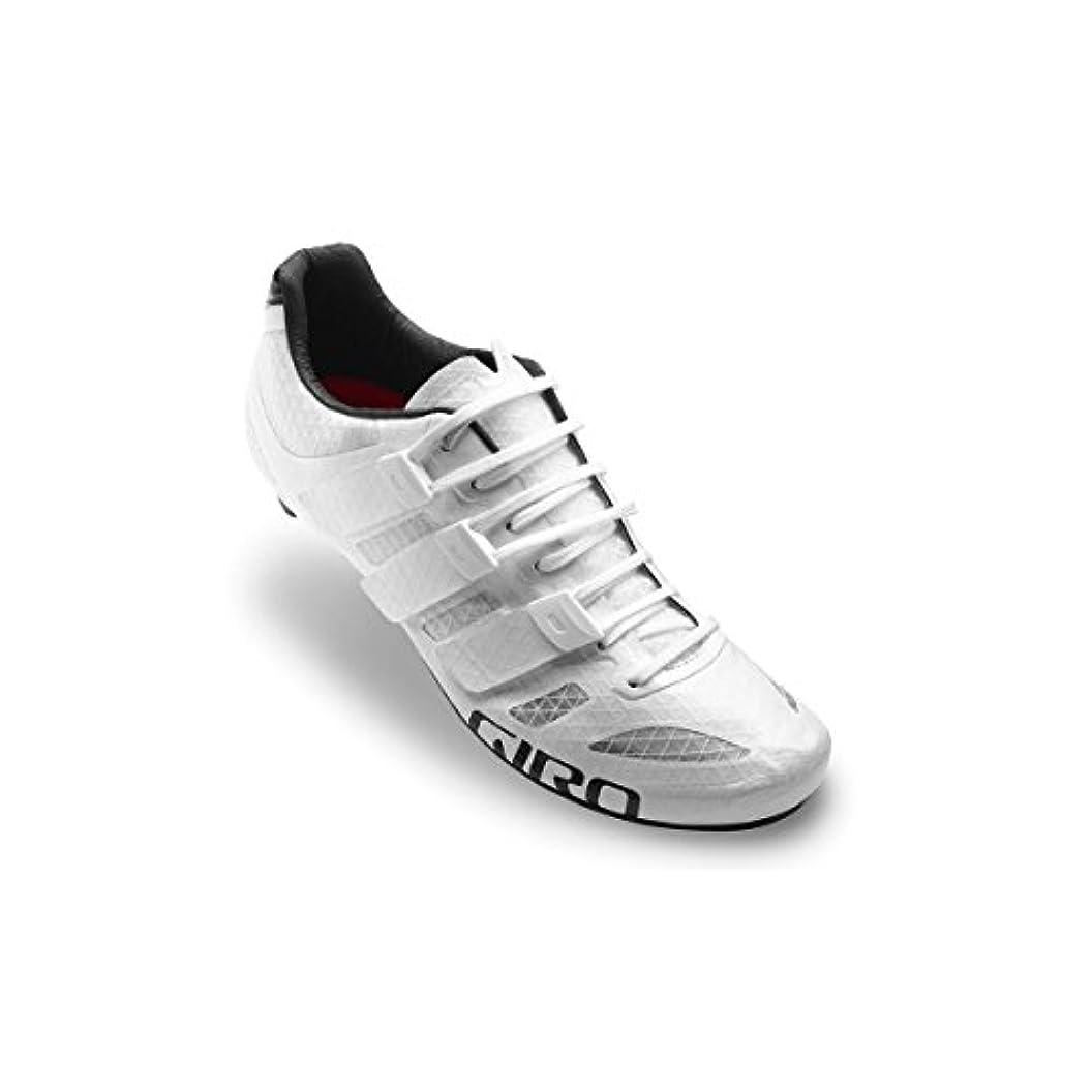 やろう消す文化Giro 2017 Prolight techlaceロードサイクリング靴 – ホワイト/ブラック