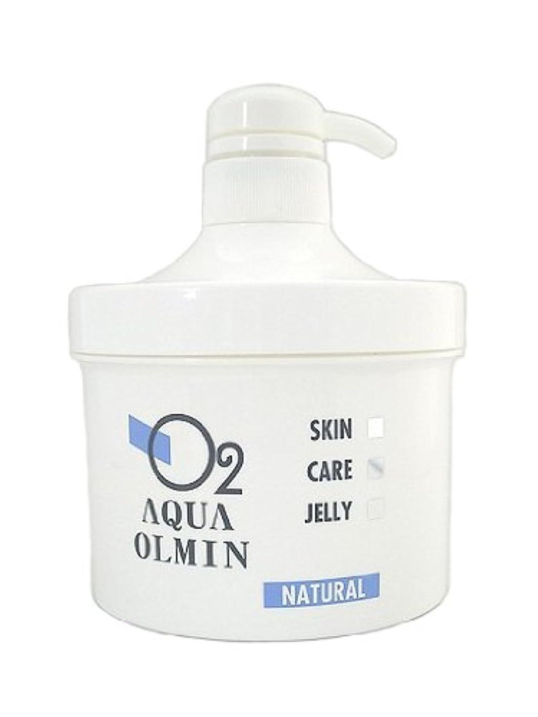 身元水差し貯水池O2アクアオルミン ナチュラル(ニキビ?脂性肌)500mlポンプ式