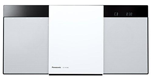 パナソニック ミニコンポ Bluetooth対応/ワイドFM対応 ホワイト SC-HC300-W