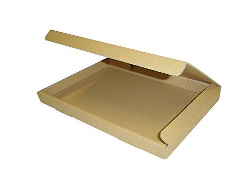 ダンボール箱ゆうパケット・クリックポスト用(段ボール箱)A4サイズ100枚(外寸:325×240×29mm)(3ミリ厚)