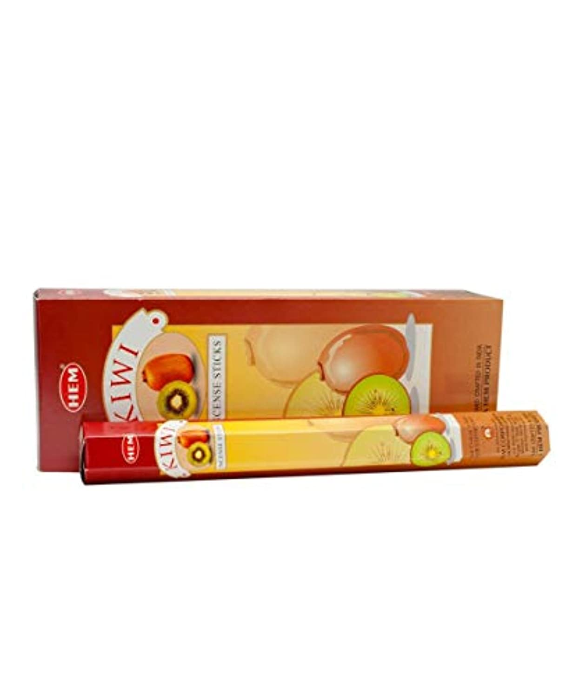 リーズ息を切らして美容師Hem Kiwi Incense Sticks (9.3 cm X 6.0 cm X 25.5cm, Black)