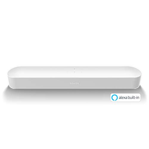 Sonos Beam コンパクトスマートTVサウンドバー Amazon Al...