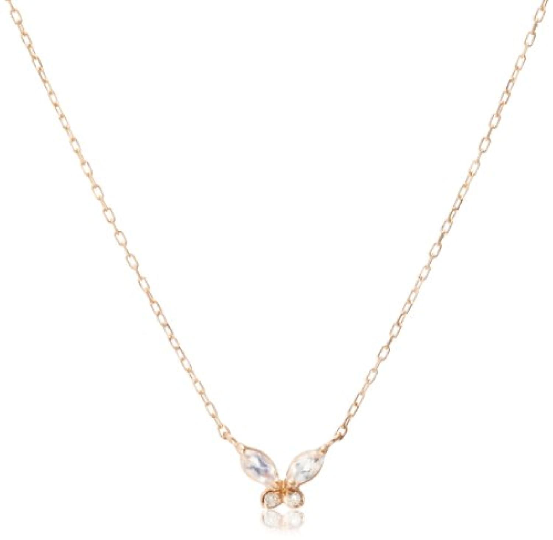 [スイーツジュエリーマーケット] Sweets Jewelry Market(スイーツ ジュエリー マーケット) (SWEGB) K10ピンクゴールド ブルームーンストーン ダイヤモンドネックレス 1293851