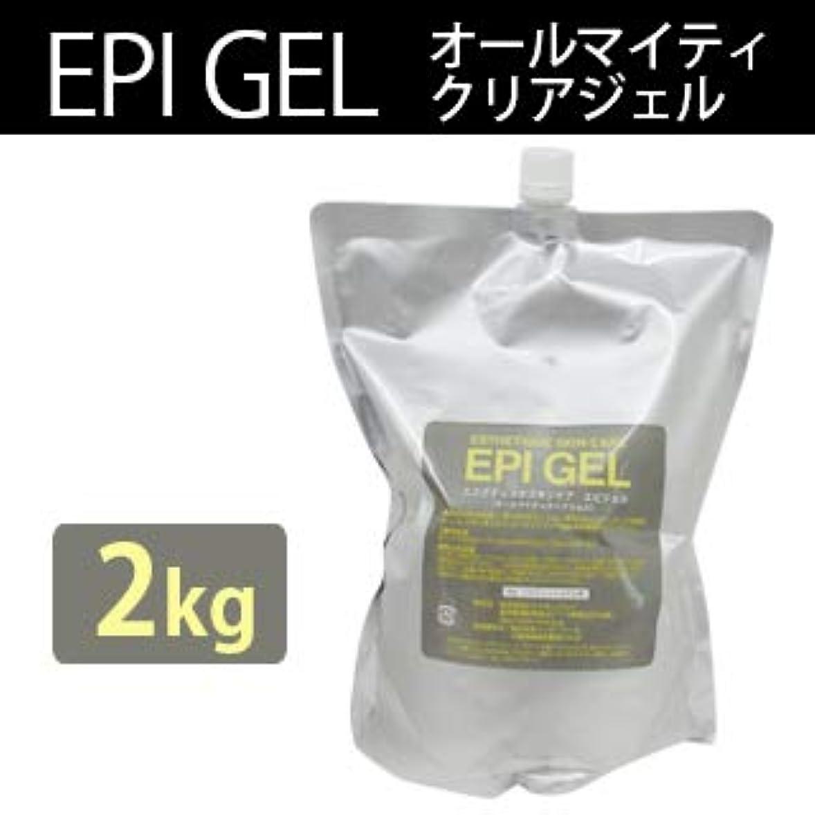 蓄積するラテン降下エステティック スキンケア エピジェル 2kg クリアジェル (1個)