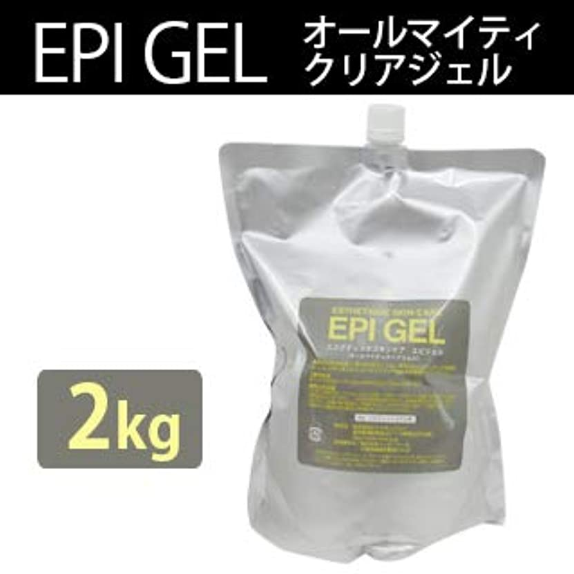 ヒューマニスティック誇張する警告するエステティック スキンケア エピジェル 2kg クリアジェル (1個)