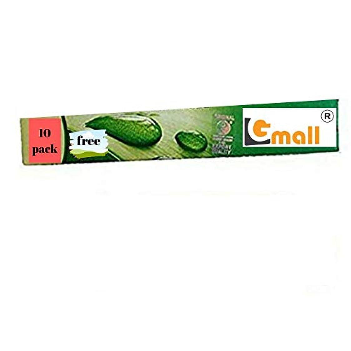 嵐の楽しませる中毒Gmall Comfort Natural Mosquito Repellent Lemon Grass Incense Sticks - Green - 130 Incense stik (12 Pack Comfort...
