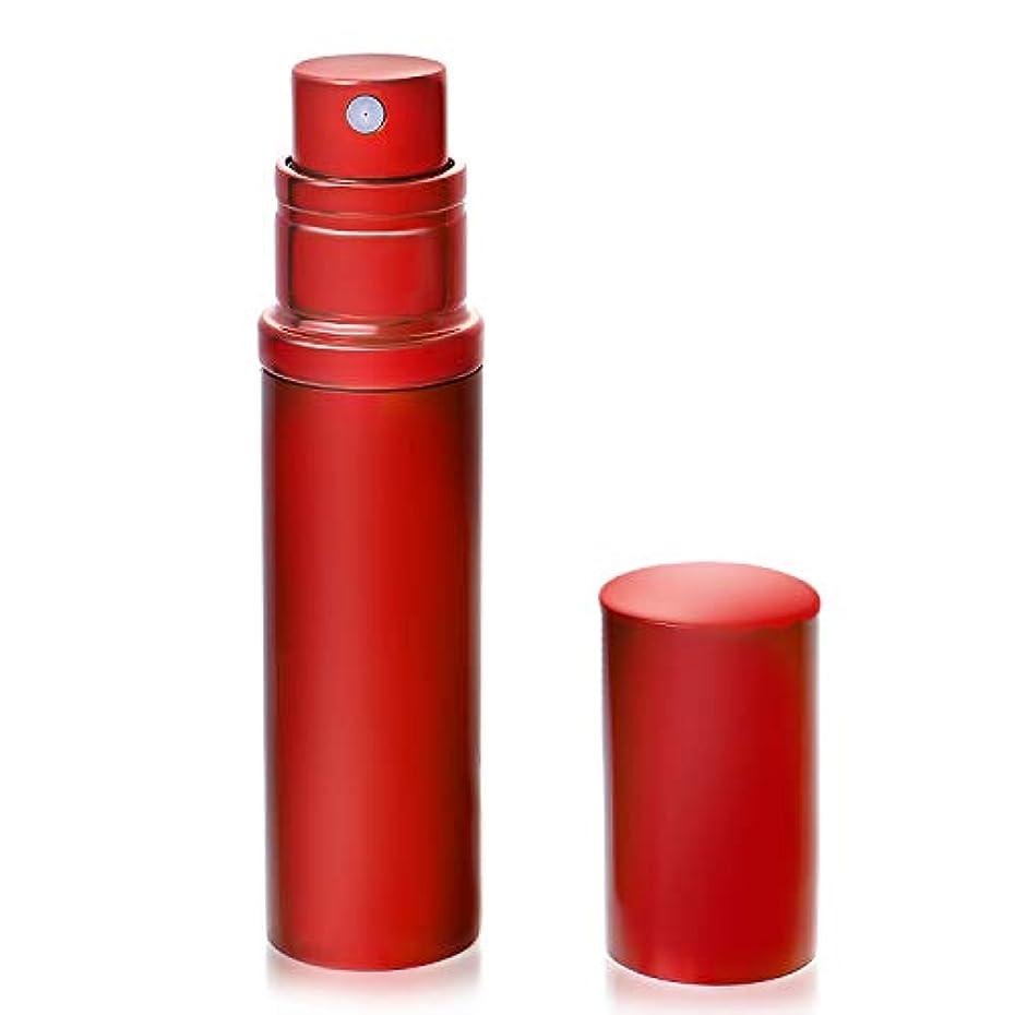 雄大な軽量ピューアトマイザ- 香水 クイックアトマイザー ワンタッチ 入れ物 簡単 持ち運び 詰め替え ポータブルクイック 容器 香水噴霧器 レッド YOOMARO