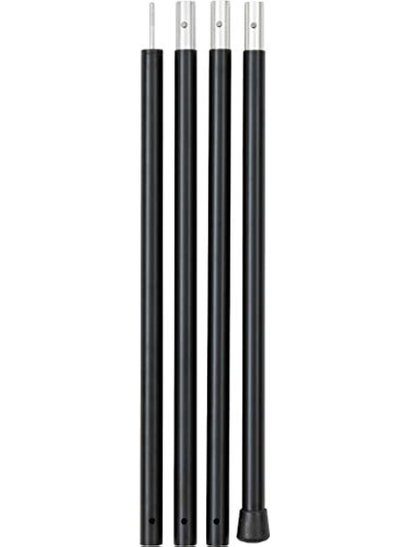 耐えるはず記録(タラスブルバ) TARAS BOULBA アルミタープポール240 ブラック