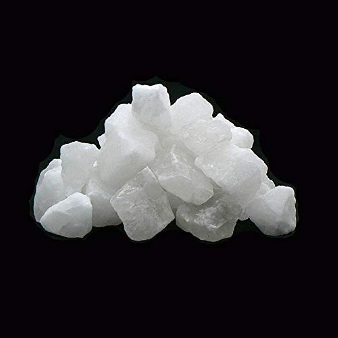 非行混雑練習したヒマラヤ岩塩 ホワイトソルト (白岩塩)塊?ロックタイプ 1kg 入浴用 浄化用 除草用塩 ホワイト岩塩 (1kg)