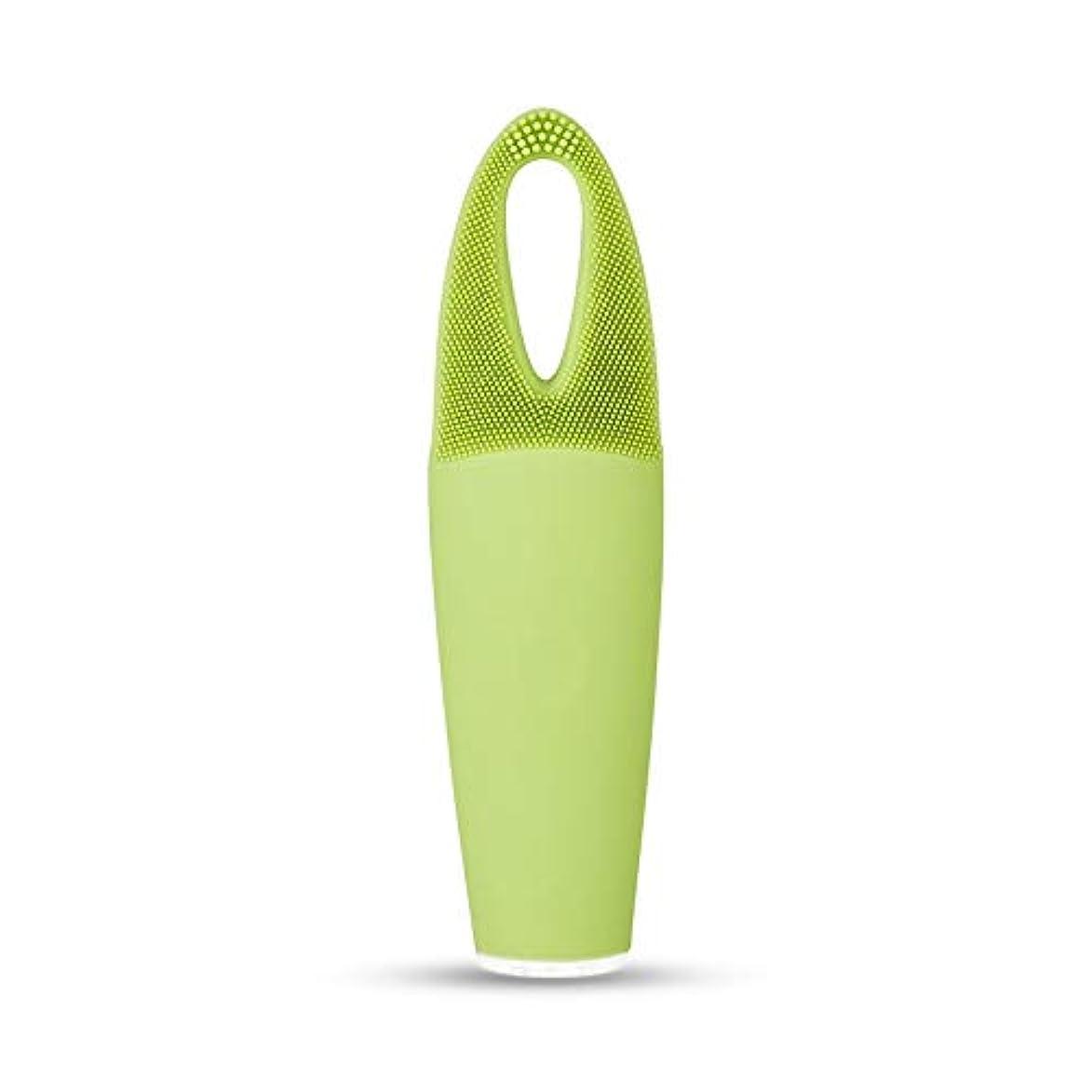 ストッキング日光プレビスサイトZXF 電気防水両面クレンジングブラシ超音波振動シリコーンクレンジング楽器敏感な筋肉洗浄器具美容器具マッサージ器具 滑らかである