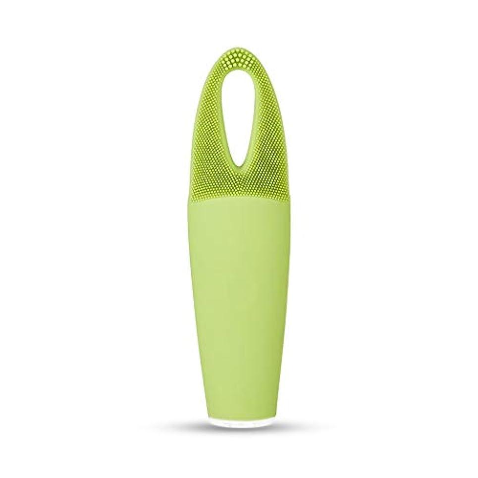 適性線形小康ZXF 電気防水両面クレンジングブラシ超音波振動シリコーンクレンジング楽器敏感な筋肉洗浄器具美容器具マッサージ器具 滑らかである