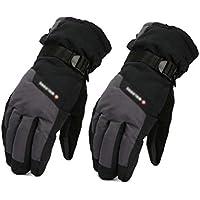 手袋、暖かい冬のパッド入りのスキーの男性,B