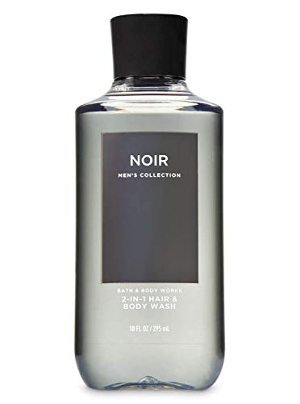 【並行輸入品】Bath & Body Works Noir 2-in-1 Hair + Body Wash 295 mL
