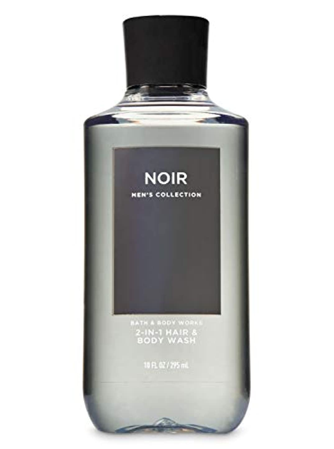 価値のない色ペア【並行輸入品】Bath & Body Works Noir 2-in-1 Hair + Body Wash 295 mL