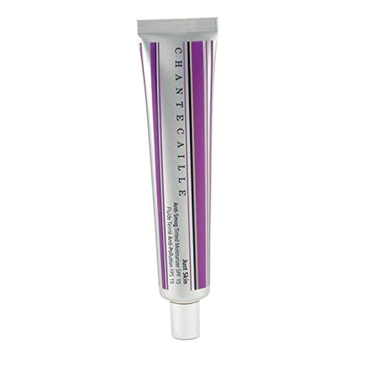 キャンセル楕円形リアルシャンテカイユ ジャストスキン アンチスモッグティンテッドモイスチャライザー SPF15 - Alabaster 50g/1.7oz並行輸入品