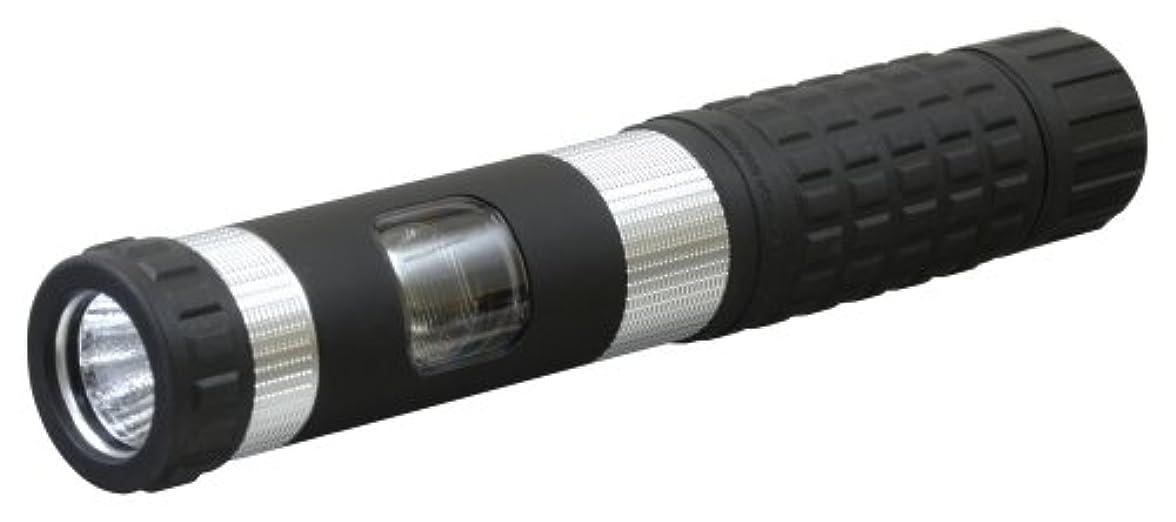 浸漬相談高度GENTOS(ジェントス) LED 懐中電灯 【明るさ100ルーメン/実用点灯6時間】 単4形電池3本使用 ジェントスプロ GS-F01CSV ANSI規格準拠
