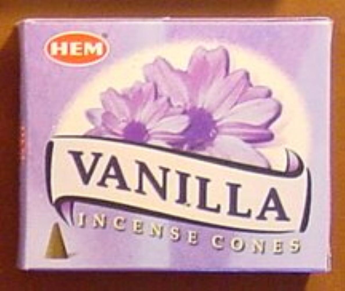 バニラ – 10コーン – 裾Incenseインドから
