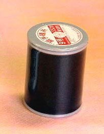 金亀印 〔色:黒〕絹手縫糸9号450m(職業用)