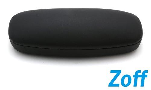 Zoff(ゾフ) シンプルなフォルムのメガネケース(Z-Jimmy3_BK)