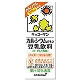 カルシウムの多い豆乳飲料 200ml ×18本 製品画像