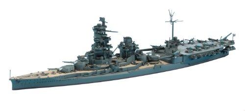 ハセガワ 1/700 ウォーターラインシリーズ 日本海軍 航空戦艦 日向 プラモデル 120