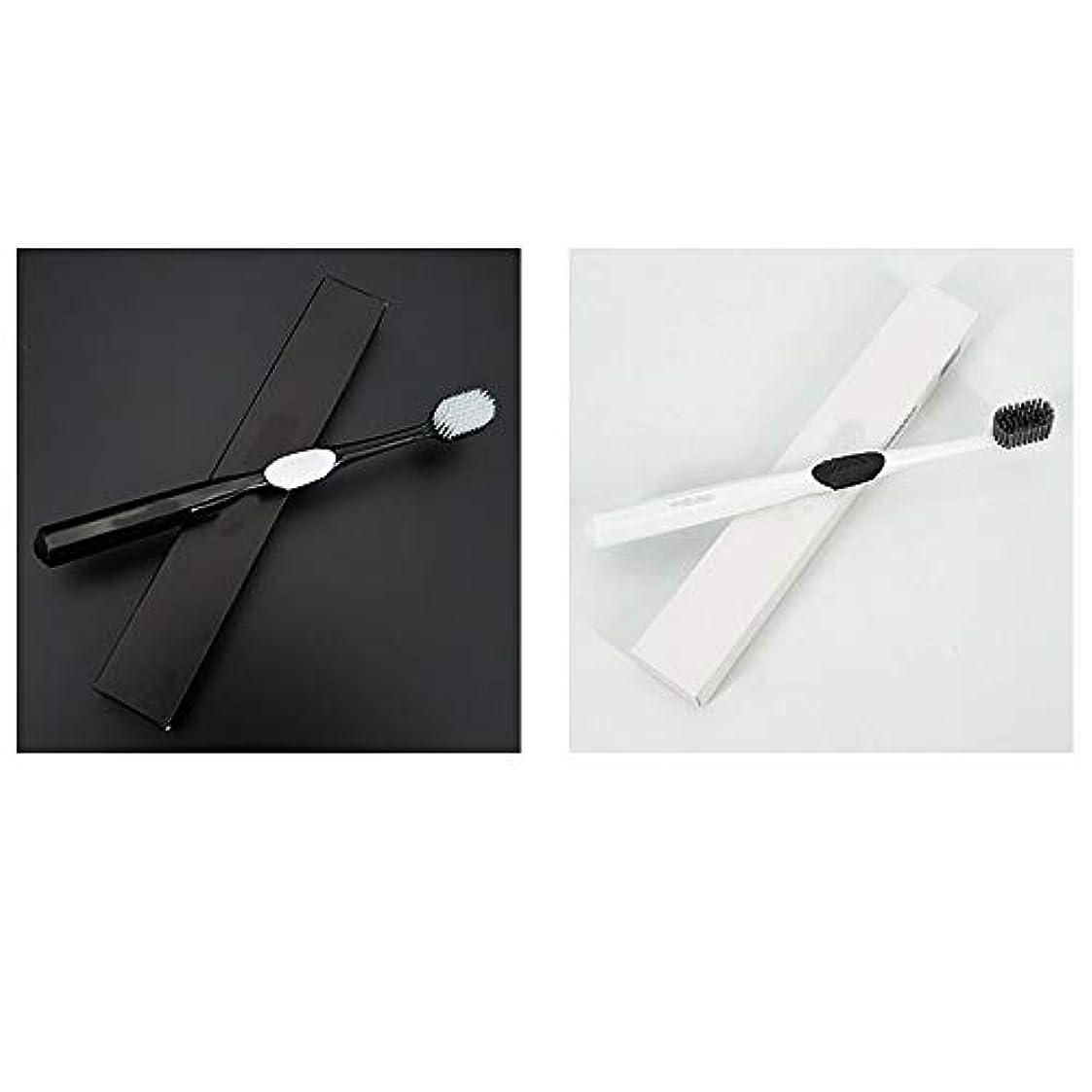引っ張る氏変数歯ブラシ 4本の歯ブラシ、ナノ柔らかい歯ブラシ、大人バルク歯ブラシ、活性炭歯ホワイトニング HL (サイズ : 4 packs)